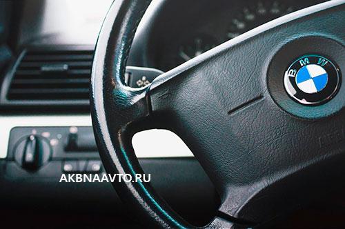 Обзор аккумуляторов для BMW